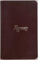 Armstrong-Payson collecting field book 1923 : record nos. 3200 to 3825.