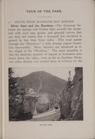 [Page of] Haynes Guide to Yellowstone Park