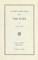 December 6, 7: The Flies