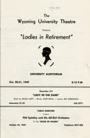 Oct 20, 21: Ladies in Retirement