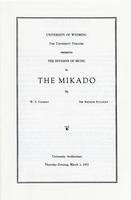 March 1: The Mikado