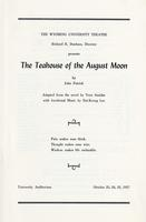Oct 23-25: The Teahouse of the August Moon