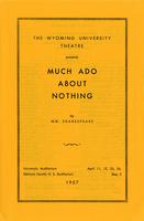 April 11-12, 25-26: Much Ado About Nothing