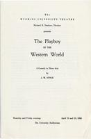 April 12, 13: The Playboy of the Western World