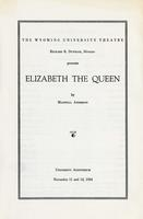 Nov 11, 12: Elizabeth the Queen