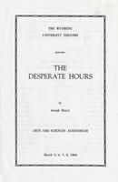March 5-8: The Desperate Hours