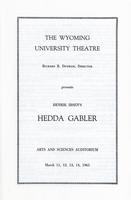 March 11-14: Hedda Gabler