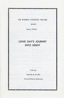 April 20-22: Long Day's Journey Into Night