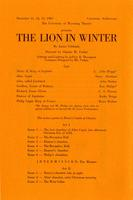 Dec 11-13: The Lion In Winter