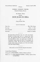 Jan 17-18: Don Juan in Hell