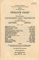 Nov 3: Twelfth Night