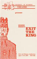 April 1-3: Exit the King