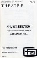 March 27-31: Ah, Wilderness!