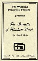 Dec 4-8: The Barretts of Wimpole Street