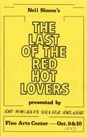 Oct 9-10: The Last of the Red Hot Lovers