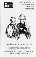 October 1-5: Arsenic and Old Lace