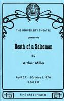 April 27-30, May 1: Death of a Salesman