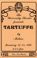 January 27-31: Tartuffe