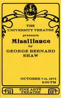 October 7-11: Misalliance