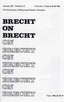 January 30 - February 3: Brecht on Brecht