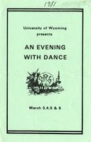 March 3-6: An Evening With Dance