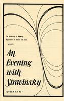 April 28-30, May 1: An Evening With Stravinsky