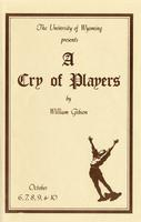 October 6-10: A Cry of Players