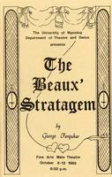 Oct 8-12: The Beaux Stratagem