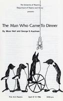 April 8-12: The Man Who Came to Dinner