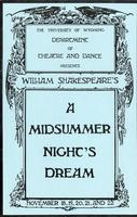 Nov 18-22: A Midsummer Night's Dream