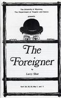 April 28 - May 2: The Foreigner