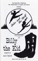 Mar 24-28: Peter and the Wolf, Billy the Kid