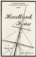Oct 7-11: Heartbreak House