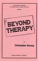 Feb 28, March 1-3: Beyond Therapy
