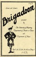 April 26-30, May 1: Brigadoon
