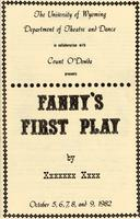 Oct 5-9: Fanny's First Play