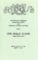 April 21, 23, 25, 27-28: The Magic Flute