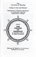 Feb 26-27, March 1, 2, 4: The Pirates of Penzance