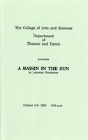 Oct 5-9: A Raisin In the Sun