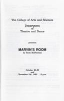 Oct 28-30, Nov 2-6: Marvin's Room