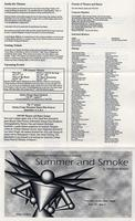 April 29-30, May 1-3: Summer and Smoke