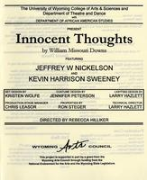 Dec 2-7: Innocent Thoughts