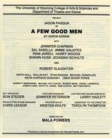Oct 10-11, 16-18: A Few Good Men
