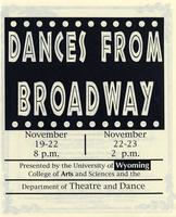 Nov 19-23: Dances From Broadway