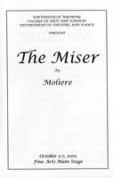 Oct 2-7: The Miser