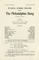 June 27-29: The Philadelphia Story
