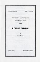 August 7-9: A Thurber Carnival