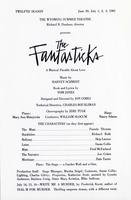 June 30, Aug 1-3: the Fantasticks