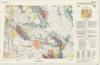Industrial minerals and construction materials map of Wyoming