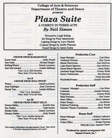 June 11-14: Plaza Suite
